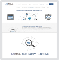 3rd Party Tracking mit ADCELL