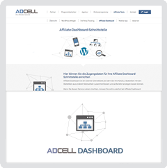 Das ADCELL Affiliate Dashboard