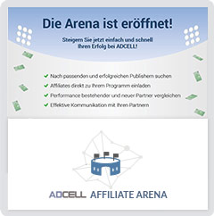 ADCELL Publisher Arena
